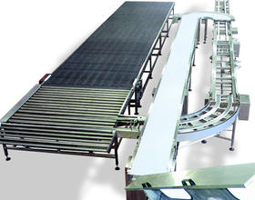 Wire mesh unloading oven